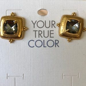 Brighton Your True Color Affectionate Earrings NWT